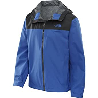 The North Face RDT Rain Jacket, Nautical Blue/Asphalt Grey (X-Large)