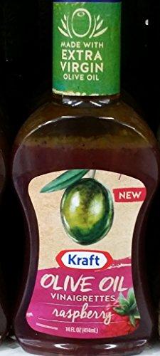 Kraft Olive Oil Vinaigrettes, Raspberry 14 Oz (Pack of 2) (Best Olive Oil Vinaigrette Dressing)