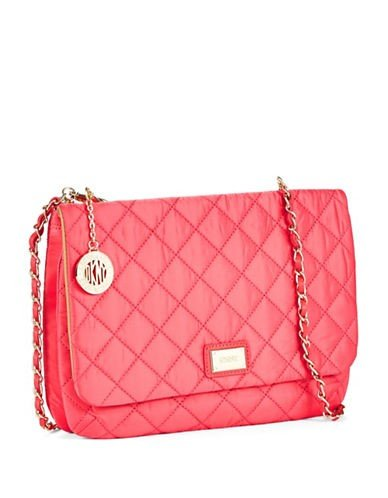 Dkny Leather Quilted Bag - 2