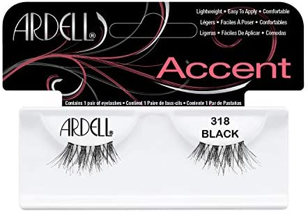 e51f6cf695f Amazon.com : Ardell Lash Accent Pair 318 (Pack of 4) : Fake Eyelashes And  Adhesives : Beauty