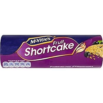 McVitie's Fruit Shortcake (200g) - Pack of 2