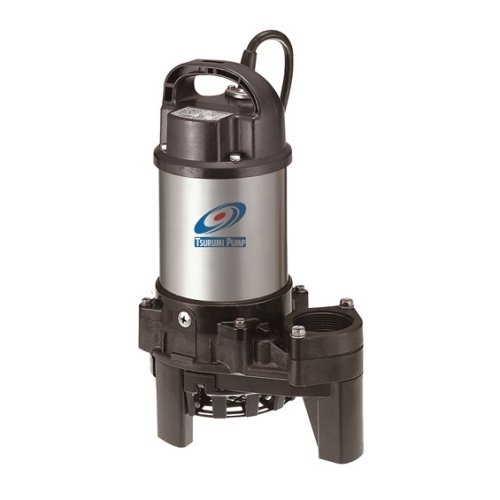 Tsurumi 4PN (50PN2.4S) 1/2hp, 115V, submersible pond & waterfall pump, stainless steel, 4740 GPH. 2