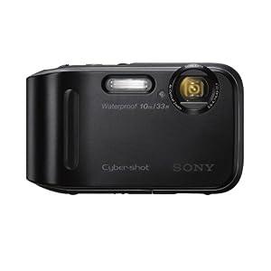 Sony DSC-TF1/B 16 MP Waterproof Digital Camera with 2.7-Inch LCD (Black) (OLD MODEL)