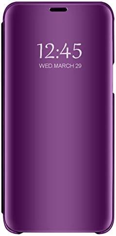 مورد برای Huawei Mate 20 / Mate 20 X Super Slim Mirror Flip PC Hard Anti-Scratch 360 محافظ مخصوص Mate 20 lite / 20 pro
