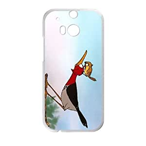 HTC One M8 Cell Phone Case White The Fox and the Hound Character Boomer Phone cover SE8587178
