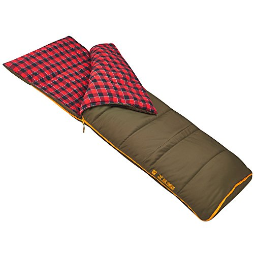 Big Timber Pro 20 Degree Deluxe Sleeping Bag with Expanded Foot Box