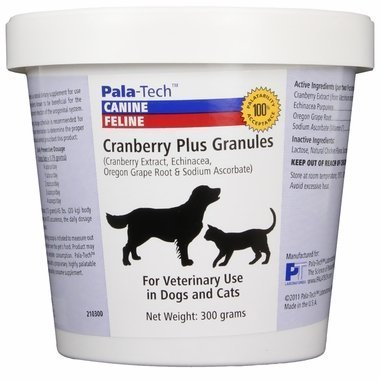 Pala-Tech Cranberry Plus Granules For Dogs and Cats, 300 grams For Sale