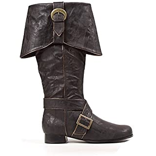 "Ellie Shoes Men's 1"" Heel Knee High Pirate Boots"
