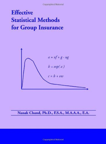 Effective Statistical Methods for Group Insurance [Paperback] [2006] (Author) Nanak Chand