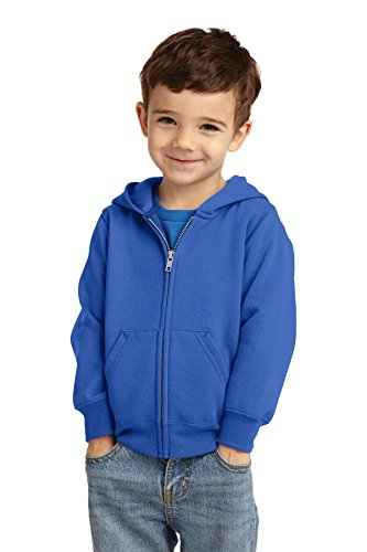 Precious Cargo unisex-baby Full Zip Hooded Sweatshirt 3T Royal