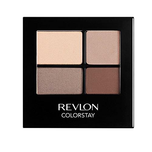 REVLON Colorstay 16 Hour Eye Shadow Quad, Addictive,