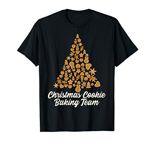 Christmas Cookie Baking Team Costume Xmas Cookie Tree Gift T-Shirt (Christmas Cookies Tree)
