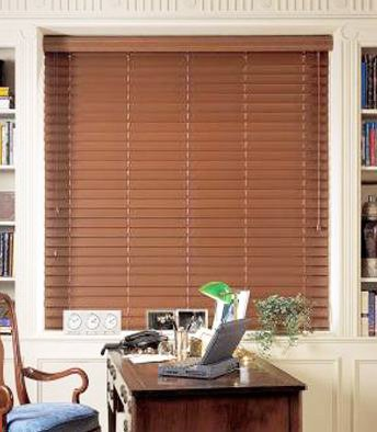 Amazoncom Graber 2 Faux Wood Blinds Horizontal Wood Blinds 77