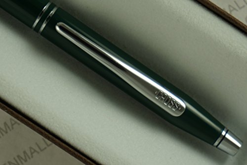 A Century Classic Green and polished Chrome appointments Ballpoint pen .Made in Lincoln , USA ()