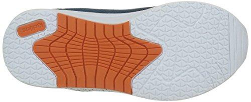 Kickers Jungen Knitwear Sneaker Blau (Blau / Grau)