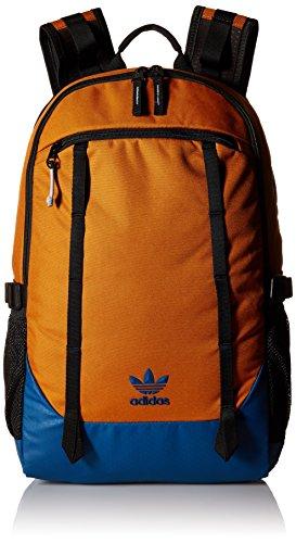 adidas Originals Create Backpack, Craft Ochre/Tech Steel/Black, One