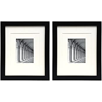 Amazon Studio 500 11 By 14 Black Wide Picture Frames Comes W