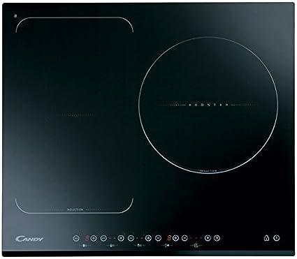 Candy CFI 36 - Placa de Inducción con Zona Flex + Paellero - Ancho 60cm - Potencia 7,2kW