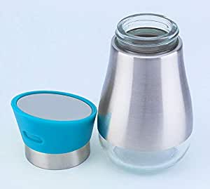 Glass Spice Jar with Stainless Shell & Stand BD-KSS-12