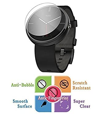 9H Protector de Pantalla Cristal Vidrio Templado Transparente para Motorola MOTO 360 Reloj Inteligente: Amazon.es: Electrónica