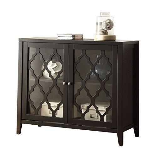 Acme Furniture Acme 97382 Ceara Cabinet, black, One ()