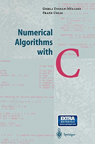 Numerical Algorithms with C by Springer