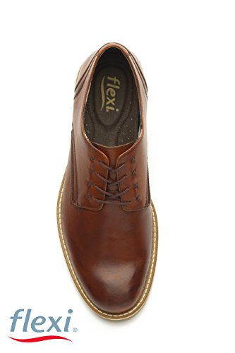 Uomo Flexi Brown Scarpe Shoes Stringate BBx7FO