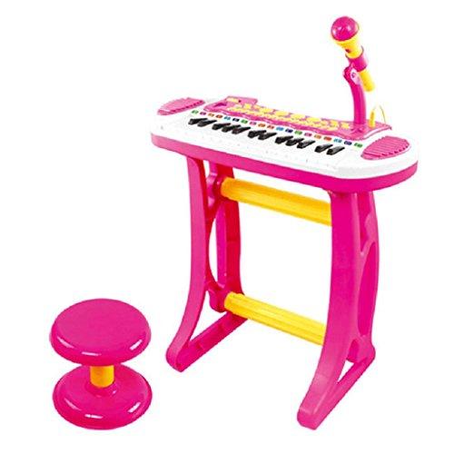 DUWEN Keyboard Children's Multifunctional Keyboard With Microphone Upgraded Version by DUWEN