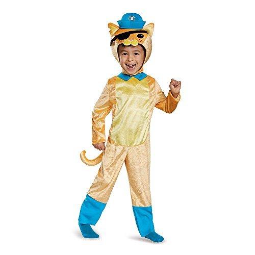 Kwazii Octonauts Costume (Disguise Kwazii Cat Classic Octonauts Silvergate Media Costume, Small/2T by Disguise)