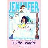 It's Me Jennifer, Jane B. Sorenson, 0872397718