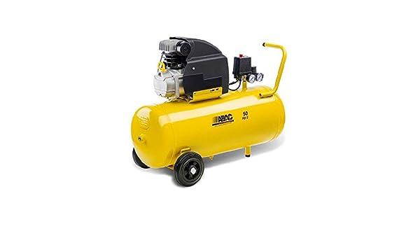ABAC 9721314 Compressore Aria 50 lt Montecarlo B20 Baseline, Amarillo: Amazon.es: Bricolaje y herramientas