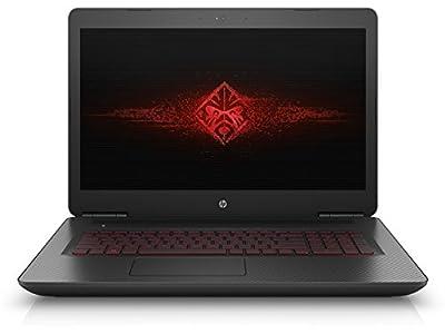 "HP 4674671 Omen 17-W033DX Gaming Laptop, INTEL:I7-6700HQ/CI7, 2.6 GHz, 1 TB, NVIDIA-GEFORCEGTX965M/4GB, Windows 10 Home 64 Bit, Black, 17"" (Certified Refurbished)"
