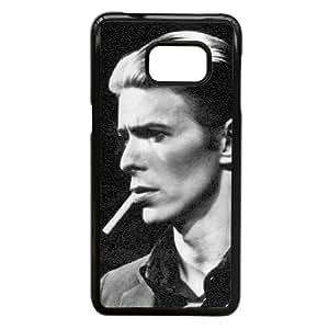 David Bowie V7E63T1BN funda Samsung Galaxy Note caso funda Edge 5 7S4R31 negro