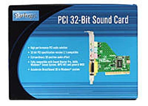 Star Logic PCI 32-Bit Sound Card (11000247)