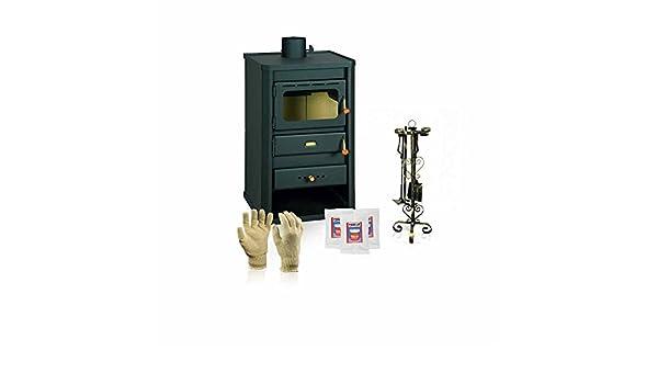 Estufa de leña Prity, Modelo S2, salida de calor 10 kW: Amazon.es: Bricolaje y herramientas