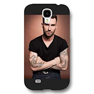 New Zeng Customized Personalized Black Frosted Samsung Galaxy S4 Case, Adam Levine Samsung S4 case, Only fit Samsung Galaxy S4