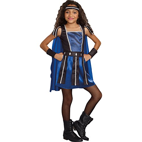 Warrior Princess Costume Size Small (Totally Ghoul Warrior Princess Costume, Girl's Size Small, ages 4-6)