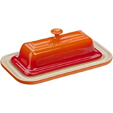 Le Creuset Stoneware Butter Dish, Flame