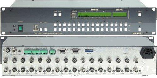 S-video Matrix Switcher - Kramer VS-162V 16X16 COMPOSITE MATRIX SWITCHER