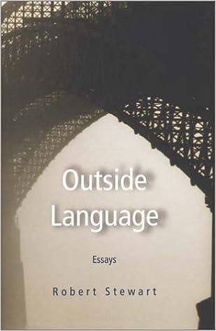 com outside language essays robert  outside language essays 1st edition