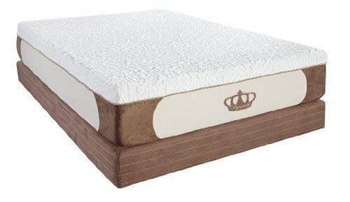 DynastyMattress Cool Breeze 12-Inch Gel Memory Foam Mattress, Queen