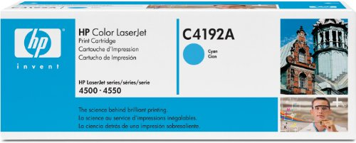 HP C4192A Toner Cartridge (Cyan/Blue), Office Central