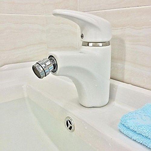 Robinet de lavabo moderne en céramique équipé d\'un mousseur rotule ...