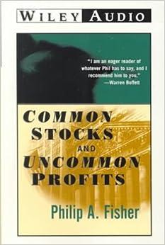 Common Stocks and Uncommon Profits (Wiley Audio): Phillip A ...