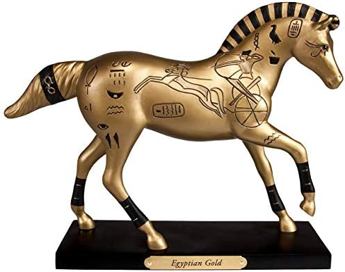 Enesco Painted Figurine Egyptian 4053783
