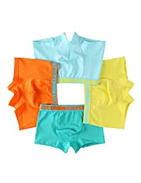 Boys' 4 Pack Boxer Brief Comfortsoft Underwear Boxers