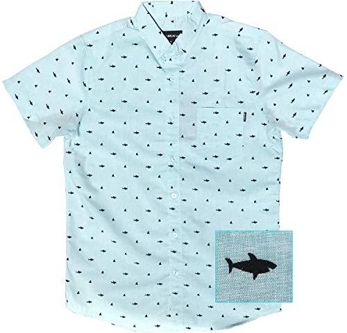 Official Molokai Shirts (Sharks (Mint Green), XL) ()