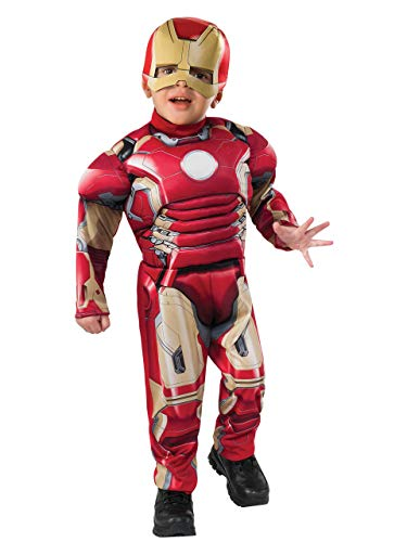 (Iron Man Toddler Costume with)