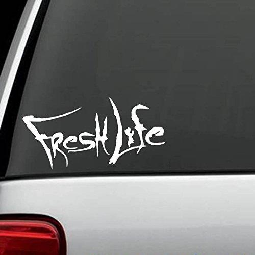 Fresh Decal (F1012 Fresh Life Fishing Decal Sticker)
