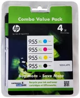 Model #955XL High Yield Value Pack Ink (Genuine) Compatible with HP Printer OfficeJet Pro 8720
